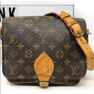 Louis Vuitton Cartouchiere MM Crossbody Bag